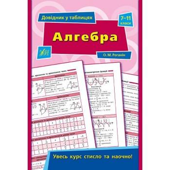 Довідник у таблицях - Алгебра. 7–11 класи