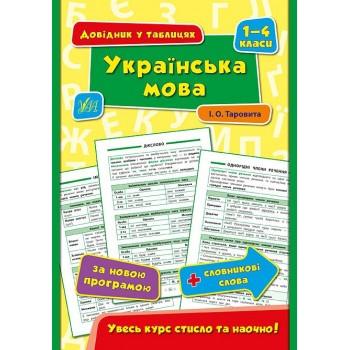 Довідник у таблицях (1-4 класи) - Українська мова. 1–4 класи