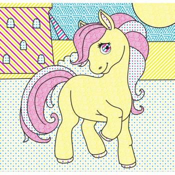 Водні розмальовочки Чарівна розмальовочка  Jumbi: Поні (у)
