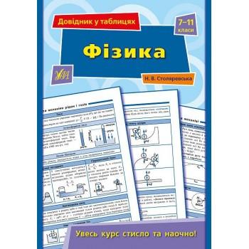 Довідник у таблицях - Фізика. 7–11 класи