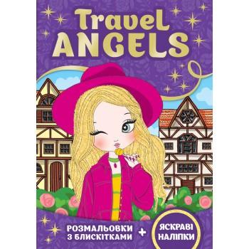 Сяючі розмальовки. Travel ANGElS