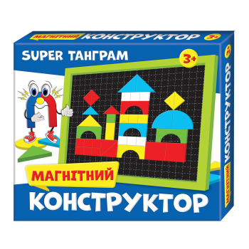 Магнітний конструктор Super Танграм